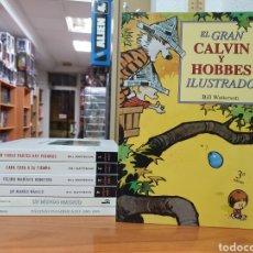 Fumetti: LOTE 7 TOMOS CALVIN Y HOBBES DE BILL WATTERSON EDICIONES B 60% DE DESCUENTO. Lote 228191930