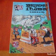 Cómics: MORTADELO Y FILEMON EL ELIXIR DE LA VIDA ( IBAÑEZ ) OLE 67 EDICIONES B 2007. Lote 228397705