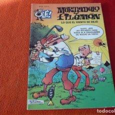 Cómics: MORTADELO Y FILEMON LO QUE EL VIENTO SE DEJO ( IBAÑEZ ) OLE 23 EDICIONES B 2005. Lote 228408220