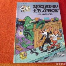 Cómics: MORTADELO Y FILEMON LOS INVASORES ( IBAÑEZ ) OLE 69 EDICIONES B 2007. Lote 228409540