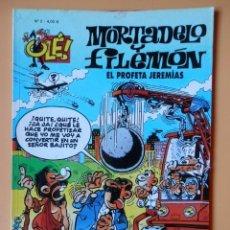 Cómics: MORTADELO Y FILEMÓN. EL PROFETA JEREMÍAS. OLÉ, Nº 2 - FRANCISCO IBÁÑEZ. Lote 228455843