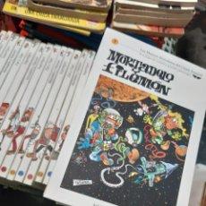 Cómics: BIBLIOTECA EL MUNDO 40 TOMOS COMPLETA. MORTADELO Y FILEMON , ROMPETECHOS SUPER LOPEZ ZIPI ZAPE. Lote 228500187