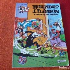 Cómics: MORTADELO Y FILEMON EL CASO DE LOS SEÑORES PEQUEÑITOS ( IBAÑEZ ) OLE 90 EDICIONES B 2008. Lote 228854400