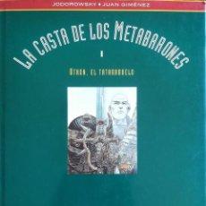 Cómics: LA CASTA DE LOS METABARONES OTHON EL TATARABUELO HORONATA LA TATARABUELA. Lote 228917875