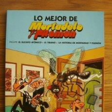 Cómics: LO MEJOR DE MORTADELO Y FILEMÓN (EL SULFATO ATÓMICO / EL TIRANO / LA HISTORIA DE MORTADELO Y FILEMÓN. Lote 297156513