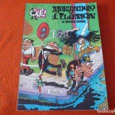 Cómics: MORTADELO Y FILEMON LA BRIGADA BICHERA ( IBAÑEZ ) OLE 87 EDICIONES B 2004. Lote 229493580