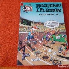 Cómics: MORTADELO Y FILEMON GATOLANDIA 76 ( IBAÑEZ ) OLE 11 EDICIONES B 2003. Lote 229494240