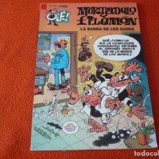 Cómics: MORTADELO Y FILEMON LA BANDA DE LOS GUIRIS ( IBAÑEZ ) OLE 138 EDICIONES B 2004. Lote 229508140