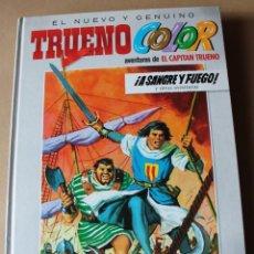 Cómics: EL NUEVO Y GENUINO TRUENO COLOR 1 - ED B. 1ª AÑO 2009, CARTONÉ - MUY BUEN ESTADO - CAPITÁN. Lote 230174040