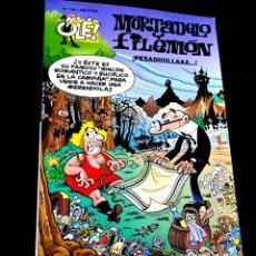 Cómics: CASI EXCELENTE ESTADO 1° PRIMERA EDICION MORTADELO Y FILEMON 124 COMICS EDICIONES B RELIEVE OLE. Lote 231153180