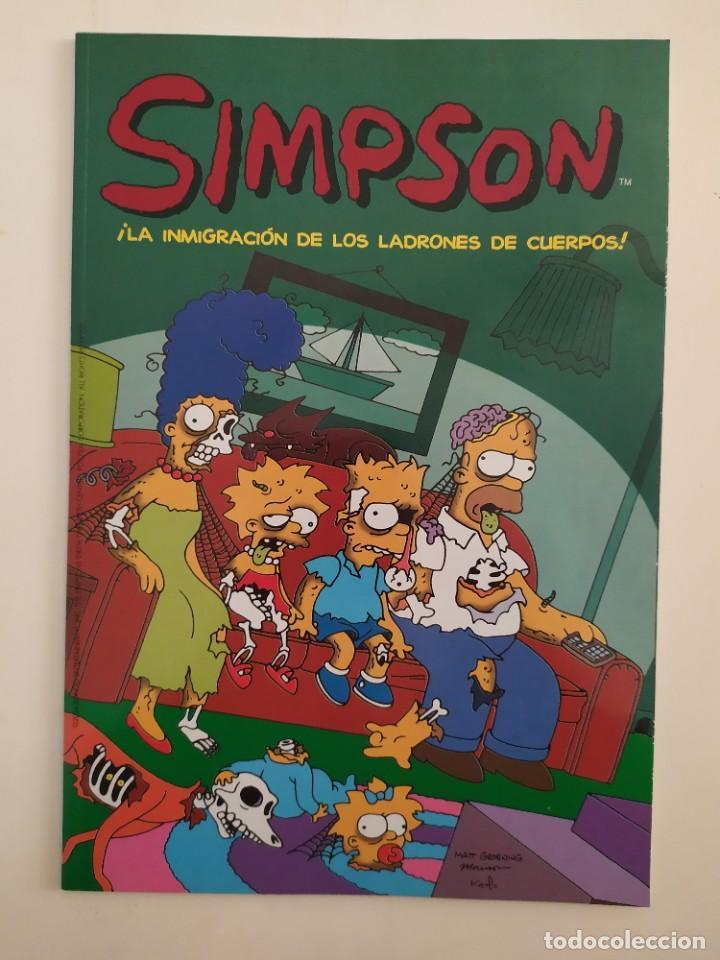 """LOS SIMPSON. COLECCIÓN COMPLETA DE 25 COMICS """"SIMPSONS CLASSICS 2004"""" (Tebeos y Comics - Ediciones B - Otros)"""