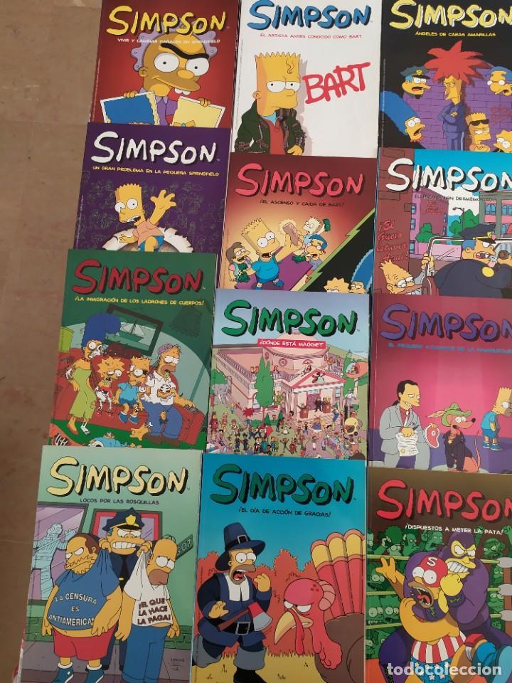 """Cómics: Los Simpson. Colección completa de 25 comics """"Simpsons Classics 2004"""" - Foto 7 - 232216580"""