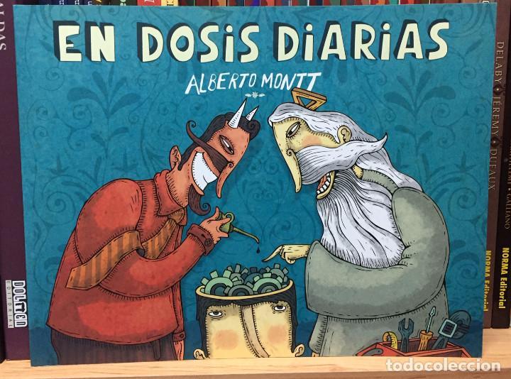 EN DOSIS DIARIAS, DE ALBERTO MONTT. EDICIONES B (Tebeos y Comics - Ediciones B - Humor)