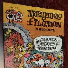 Cómics: MORTADELO Y FILEMON COLECCION OLE Nº 4: EL PREMIO NO-VEL - FRANCISCO IBAÑEZ (EDICIONES B 2003). Lote 232595285