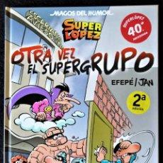 Cómics: MAGOS DEL HUMOR Nº 156 - OTRA VEZ EL SUPERGRUPO - EDICIONES B. ''EXCELENTE ESTADO''. Lote 261330805