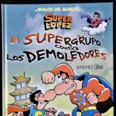 Cómics: MAGOS DEL HUMOR Nº 169 - SUPER LOPEZ Y EL SUPERGRUPO CONTRA LOS DEMOLEDORES ED. B. 'EXCELETE ESTADO'. Lote 232912465