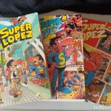 Cómics: SUPERLOPEZ 3 PRIMEROSTOMOS (1, 2 Y 3) EDICIONES B 1ª EDICIÓN!. Lote 233097300