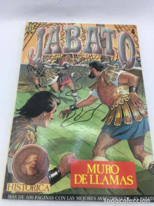 JABATO - SELECCION DE EDICIONES HISTORICAS - Nº 4 CONTENIENDO LOS NUMEROS 55,56,57,58 - EDICIONES B (Tebeos y Comics - Ediciones B - Clásicos Españoles)