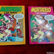Cómics: COMIC MORTADELO Y SUS AMIGOS TOMOS 6 Y 13 -DE LOS 80 (RETAPADOS) ZIPI Y ZAPE, SUPER LOPEZ. Lote 233739380