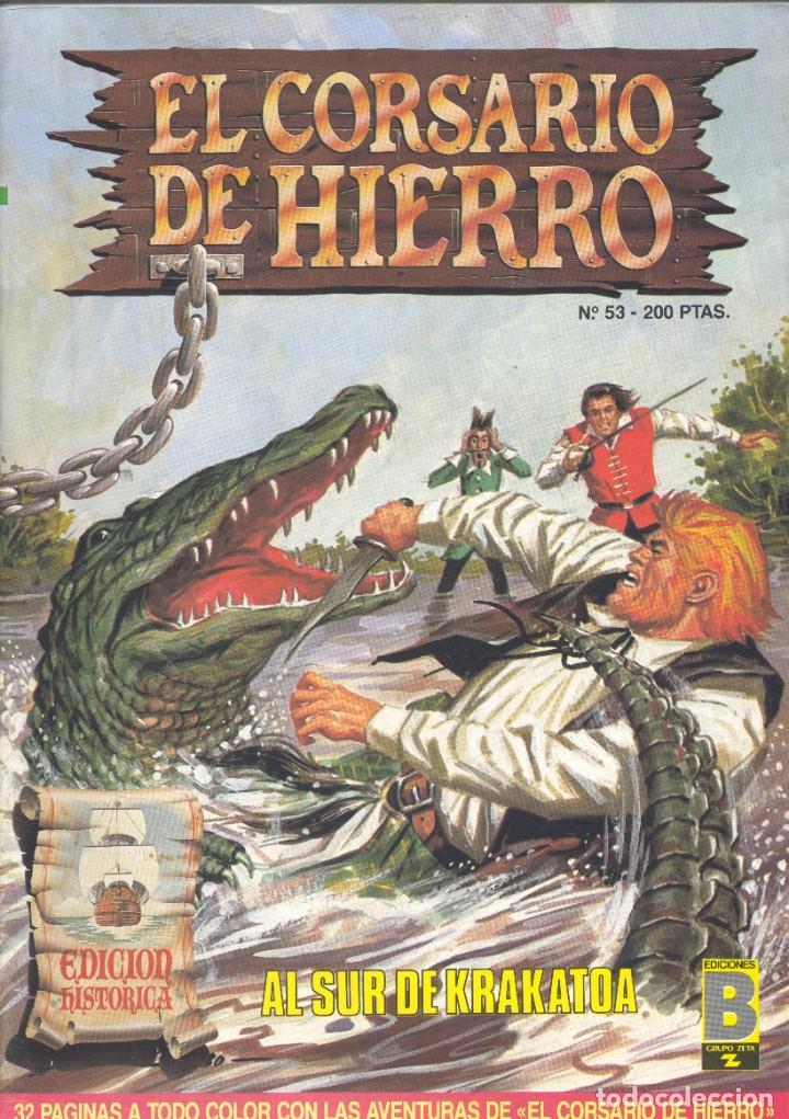 CORSARIO DE HIERRO Nº53. EDICIONES B, 1989. AMBRÓS Y VÍCTOR MORA (Tebeos y Comics - Ediciones B - Clásicos Españoles)