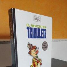 Cómics: **PRECINTADO** ESPECIAL COLECCIONISTA EL REPORTER TRIBULETE CLASICOS DEL HUMOR; TAPA DURA RBA. Lote 234648600