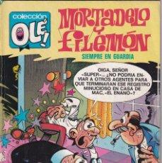 Cómics: MORTADELO Y FILEMON - SIEMPRE EN GUARDIA- COLECCIÓN OLÉ- EDITORIAL BRUGUERA 1983 4º EDICIÓN. Lote 234751535