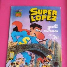 Cómics: SUPER LOPEZ Nº 16 LOS CERDITOS DE CAMPRODON - OLE. Lote 234759370