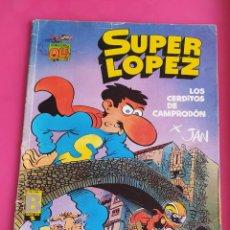 Cómics: SUPER LOPEZ Nº 16 LOS CERDITOS DE CAMPRODON - OLE. Lote 234759520