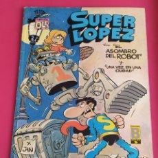 Cómics: SUPER LOPEZ Nº 14 EL ASOMBRO DEL ROBOT- OLE AÑO 1.989. Lote 234829815