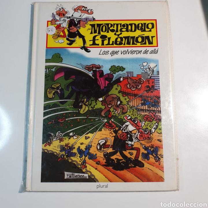 MORTADELO Y FILEMÓN LOS QUE VOLVIERON DE ALLÁ, EDICIÓN PARA PLURAL 2000 (Tebeos y Comics - Ediciones B - Humor)
