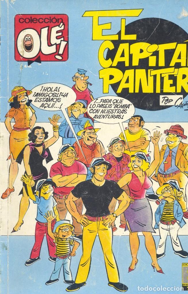 CAPITÁN PANTERA. EDICIONES B,1989 (Tebeos y Comics - Ediciones B - Humor)