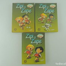 Cómics: GRAN ENCICLOPEDIA DEL COMIC ZIPI Y ZAPE 3 TOMOS EDICIONES B BRUCH. Lote 235342085