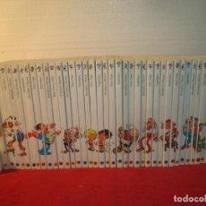 Comics : LAS MEJORES HISTORIETAS DEL COMIC ESPAÑOL 40 TOMOS COMPLETA BIBLIOTECA EL MUNDO. Lote 235550310