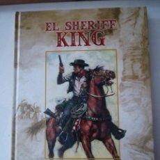 Cómics: TOMO Nº1 EL SHERIFF KING. VICTOR MORA - F. DIAZ . EDICIONES B.. Lote 235566470