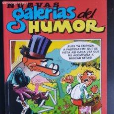 Cómics: TEBEO / CÓMIC NUEVAS GALERÍAS DEL HUMOR N⁰ 1 EDICIONES B 1987 CON 5 DENTRO. Lote 235574020