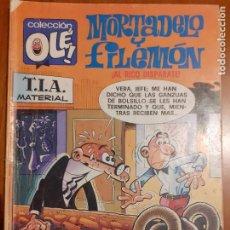 Cómics: COLECCIÓN OLÉ Nº 139. MORTADELO Y FILEMÓN. AL RICO DISPARATE. EDICIONES B 1987. Lote 235796175