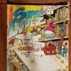 Cómics: SIUPER LOPEZ Nº 15. PUBLICIDAD PETA ZETAS. EDICIONES B 1987. Lote 235924930