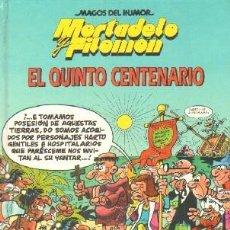 Comics: MAGOS DEL HUMOR: MORTADELO Y FILEMÓN. EL QUINTO CENTENARIO. IBAÑEZ, FRANCISCO. A-COMIC-6049. Lote 236227725