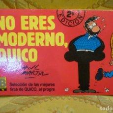 Cómics: QUICO EL PROGRE Nº 2: NO ERES MODERNO, QUICO, DE JOSÉ LUIS MARTÍN. EDICIONES B 1.990.. Lote 236645720
