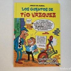 Cómics: LOS CUENTOS DEL TÍO VÁZQUEZ DE VÁZQUEZ. EDICIONES B.. Lote 236810380