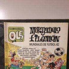 Fumetti: MORTADELO Y FILEMÓN/ MUNDIALES DE FUTBOL 82/ COLECCIÓN OLÉ! / EDICIONES B/ 2A EDICIÓN/ ( LIBROS.MYF). Lote 236985180
