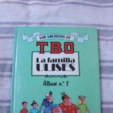 Cómics: TOMO 6 - LOS ARCHIVOS DE TBO LA FAMILIA ULISES - ALBUM Nº 2. Lote 236985885