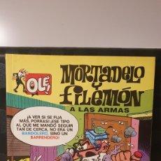 Cómics: MORTADELO Y FILEMÓN/ A LAS ARMAS / COLECCIÓN OLÉ! / EDICIONES B/ 1A EDICIÓN/ ( LIBROS.MYF). Lote 236986150