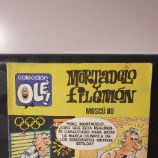 Fumetti: MORTADELO Y FILEMÓN/ MOSCÚ 80 / COLECCIÓN OLÉ! / EDICIONES B/ 2A EDICIÓN/ ( LIBROS.MYF). Lote 236987995