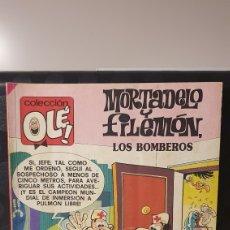 Cómics: MORTADELO Y FILEMÓN/ LOS BOMBEROS / COLECCIÓN OLÉ! / EDICIONES B/ 2A EDICIÓN/ ( LIBROS.MYF). Lote 236989400