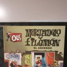 Cómics: MORTADELO Y FILEMÓN/ EL ASCENSO/ COLECCIÓN OLÉ! / EDICIONES B/ 1A EDICIÓN/ ( LIBROS.MYF). Lote 236989750