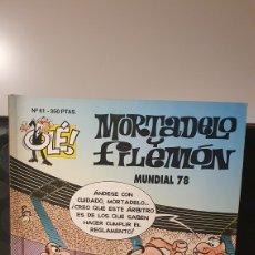 Fumetti: MORTADELO Y FILEMÓN/ MUNDIAL 78 / OLÉ MORTADELO / EDICIONES B/ 1A EDICIÓN/ ( LIBROS.MYF). Lote 236993035