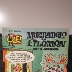 Cómics: MORTADELO Y FILEMÓN/ BILLY EL HORRENDO / OLÉ MORTADELO / EDICIONES B/ 1A EDICIÓN/ ( LIBROS.MYF). Lote 236995100