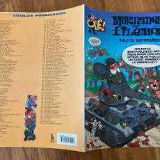 Cómics: ¡LIQUIDACION! PEDIDO MINIMO 5 EUROS - OLÉ! MORTADELO Y FILEMON Nº 152 - EDICIONES B - GCH. Lote 237063790