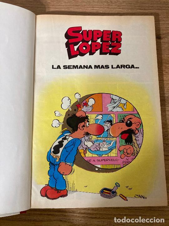 Cómics: SUPER HUMOR PEQUEÑOS SUPER LOPEZ Nº 2. PRIMERA 1ª EDICION 1987. EDICIONES B - Foto 5 - 237180390
